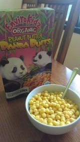 Review: EnviroKidz Organic Peanut Butter PandaPuffs